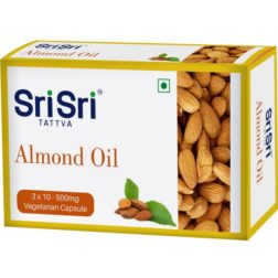 Sri Sri Tattva Almond veg Oil Capsule