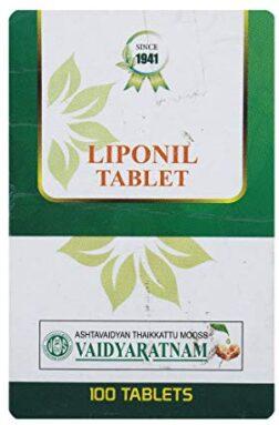 Vaidyaratnam Liponil Tablets