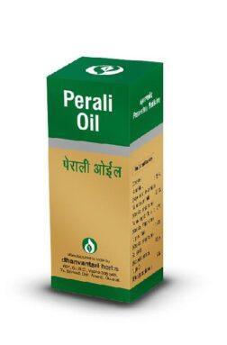 Dhanwantri Gujarat Herbals Perali Oil