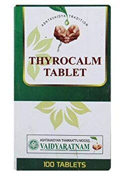 Vaidyaratnam Thyrocalm Tablet