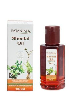 Patanjali Sheetal Hair Oil
