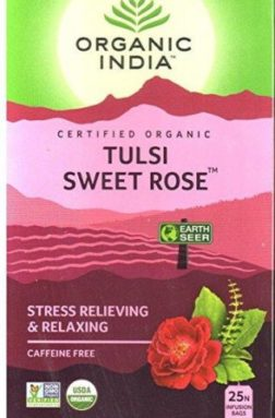 Organic India Tulsi Sweet Rose Tea