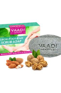 Vaadi Herbals Elbow Foot Knee Scrub Soap