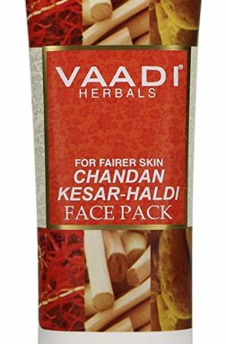 Vaadi Herbals Chandan Kesar Haldi Fairness Face Pack