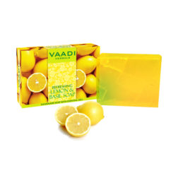 Vaadi Herbals Lemon & Basil Soap