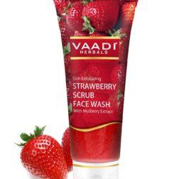Vaadi Herbals Strawberry Scrub Face wash