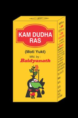 Baidyanath Kamdudha Ras (Moti Yukta) (10tab)